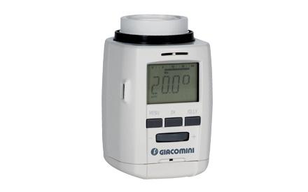 Composants pour radiateur giacomini s p a - Robinet thermostatique radiateur programmable ...